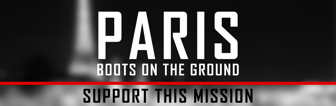 Help put boots on the ground in Paris